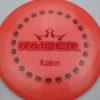 BioFuzion Raider - pinkorange - black - red-fracture - 175g - 176-2g - somewhat-domey - somewhat-stiff