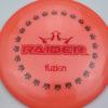 BioFuzion Raider - pinkorange - black - red-fracture - 175g - 176-1g - somewhat-domey - somewhat-stiff