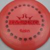 BioFuzion Raider - pinkorange - black - red-fracture - 174g - 175-5g - neutral - somewhat-stiff