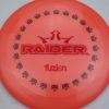 BioFuzion Raider - pinkorange - black - red-fracture - 175g - 176-3g - neutral - somewhat-stiff