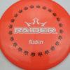 BioFuzion Raider - pinkorange - black - white - 174g - 175-9g - neutral - somewhat-stiff