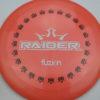 BioFuzion Raider - pinkorange - black - white - 174g - 175-5g - somewhat-domey - somewhat-stiff