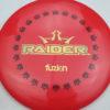 BioFuzion Raider - redpink - black - gold - 174g - 175-3g - neutral - somewhat-stiff