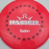 BioFuzion Raider - redpink - black - silver-fracture - 174g - 175-7g - somewhat-flat - somewhat-stiff