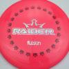 BioFuzion Raider - redpink - black - silver-fracture - 173g - 174-4g - somewhat-flat - somewhat-stiff