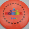 BioFuzion Raider - pinkorange - black - rainbow - 174g - 175-3g - neutral - somewhat-stiff
