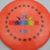 BioFuzion Raider - pinkorange - black - rainbow - 174g - 175-9g - somewhat-domey - somewhat-stiff