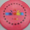 BioFuzion Raider - pinkorange - black - rainbow - 174g - 175-5g - neutral - somewhat-stiff