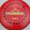 BioFuzion Raider - red - black - gold - 173g - 174-5g - neutral - somewhat-stiff