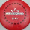 BioFuzion Raider - red - black - silver-fracture - 173g - 174-2g - neutral - somewhat-stiff