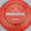 BioFuzion Raider - pinkorange - black - silver-fracture - 174g - 175-7g - neutral - somewhat-stiff