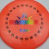 BioFuzion Raider - pinkorange - black - rainbow - 174g - 175-9g - neutral - somewhat-stiff