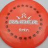 BioFuzion Raider - pinkorange - black - silver-fracture - 174g - 175-9g - somewhat-domey - somewhat-stiff