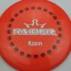 BioFuzion Raider - pinkorange - black - silver-fracture - 174g - 175-5g - somewhat-domey - somewhat-stiff