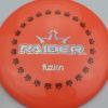 BioFuzion Raider - pinkorange - black - silver-fracture - 175g - 176-9g - neutral - somewhat-stiff