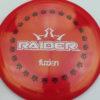 BioFuzion Raider - red - black - white - 174g - 175-5g - neutral - somewhat-stiff
