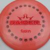 BioFuzion Raider - pinkorange - black - red-fracture - 174g - 175-8g - neutral - somewhat-stiff