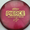 Paige Pierce Z Buzzz - 2020 Tour Series - gold-hearts - 175-176g - 177-3g - somewhat-flat - somewhat-stiff
