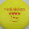 Nemesis - yellow - icon - red-lines - 173g - 173-7g - neutral - somewhat-stiff
