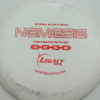 Nemesis - off-white - icon - red-lines - 169g - 168-7g - pretty-flat - somewhat-gummy