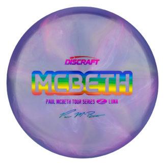 Discraft McBeth Z Luna. Tour Series Luna. Tour Z Luna.Big Z Luna