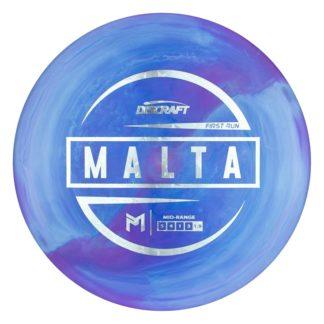 First Run Malta. Paul McBeth Malta. Discraft Malta. Swirly ESP Malta.
