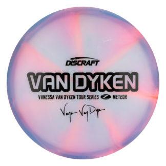 Vanessa Van Dyken Meteor. Discraft Meteor. Siwrly Z Meteor. 2020 Tour Series Meteor