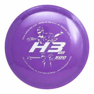 Prodigy Will Schusterick H3 V2 in purple 500 plastic.