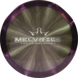 Dynamic Discs Lucid-X Melvrick in Glimmer plastic.