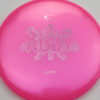 Opto Glimmer Ruby - pink - light-pink - 161g - 161-8g - somewhat-flat - somewhat-gummy