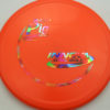 Pig - orange - r-pro - rainbow-jelly-bean - 304 - 175g - 175-2g - pretty-domey - somewhat-stiff