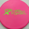 Ringer - pink - x-line - green-lines - 170-172g - 173-0g - pretty-domey-in-the-center - very-gummy