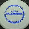 Slammer - white - prime - blue-fracture - 175g - 175-8g - super-flat - pretty-stiff