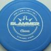 Slammer - blue - classic - silver-fracture - 174g - 174-1g - super-flat - pretty-stiff