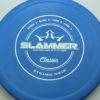Slammer - blue - classic - silver-fracture - 174g - 174-3g - super-flat - pretty-stiff