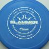 Slammer - blue - classic - silver-fracture - 174g - 174-2g - super-flat - pretty-stiff