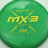 MX-3 - green - 750 - yellow - 179g - 180-5g - somewhat-flat - somewhat-stiff