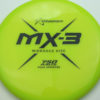 MX-3 - yellowgreen - 750 - black - 177g - 176-2g - somewhat-flat - neutral