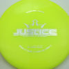 Justice - yellow - lucid - silver - 304 - 174g - 175-1g - somewhat-flat - neutral