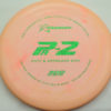 PA2 - blend-orangepink - 300 - green-fracture - 304 - 173g - 172-7g - somewhat-puddle-top - somewhat-gummy