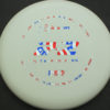 PA2 - white - 350g - flag - 304 - 171g - 171-2g - somewhat-puddle-top - very-stiff