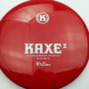 Kaxe Z - red - k1 - white - 173g - 174-2g - somewhat-domey - neutral