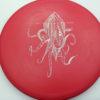 OctoBerg DX Roc - red - white - 180g - 179-0g - pretty-domey - somewhat-stiff