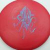OctoBerg DX Roc - red - blue - 180g - 178-8g - somewhat-domey - somewhat-stiff