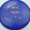 OctoBerg Valkyrie - blue - rainbow - 175g - 174-4g - somewhat-domey - neutral