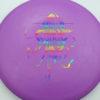 OctoBerg DX Roc - purple - rainbow - 180g - 181-2g - pretty-domey - somewhat-stiff