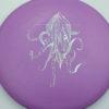 OctoBerg DX Roc - purple - silver-stars - 180g - 183-0g - pretty-domey - somewhat-stiff