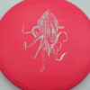 OctoBerg DX Roc - pink - silver-stars - 180g - 177-7g - somewhat-domey - somewhat-stiff