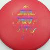OctoBerg DX Roc - red - rainbow - 180g - 178-9g - pretty-domey - somewhat-stiff