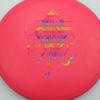 OctoBerg DX Roc - pink - rainbow - 180g - 178-2g - somewhat-domey - somewhat-stiff